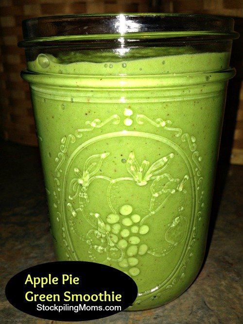 This delcious green smoothie is a great way to start you day and is packed with nutritrion!