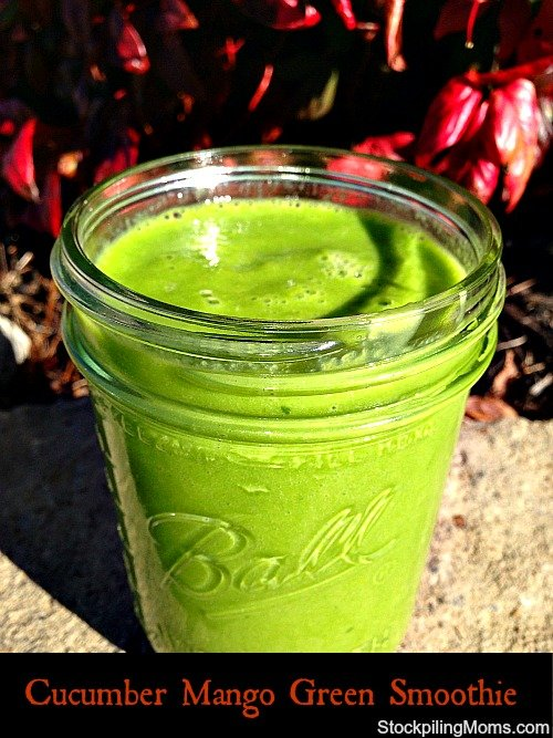 My favorite smoothie recipe! PACKED full of fruits, vegetables, minerals and nutrients and only 200 calories.