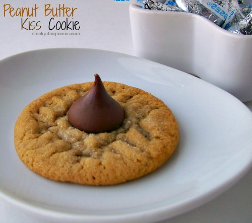 If you are looking for the perfect cookie Peanut Butter Kiss Cookie is it!