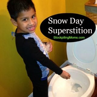 Snow Day Superstitions