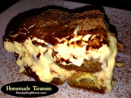 There is nothing better than homemade tiramisu - this recipe is amazing!