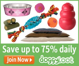 Doggyloot  25% to 75% off