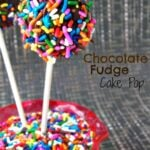 Chocolate Fudge Cake Pop