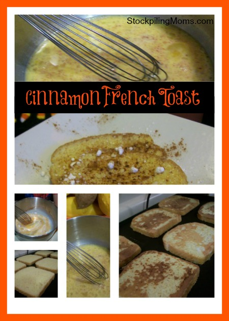 Cinnamon French Toast is an easy recipe that is perfect for breakfast or dinner!