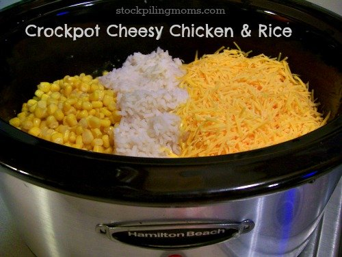Apr 17,  · Crock Pot Chicken and Rice, this is a simple rice dish that would come together really quickly on a busy day. Just 6 ingredients needed for this dinner. Feeds 6 people but it could be doubled, you might need an extra crock pot if this dish needs to be cemeshaiti.tke: American.