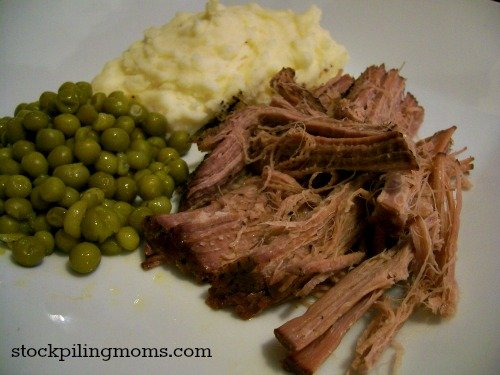 Crockpot Sprite Roast is so easy to make and tastes delicious! Trust me, if you haven't tried this recipe now is the time!