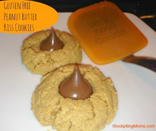 Gluten Free Peanut Butter Kiss Cookies are my favorite cookie!