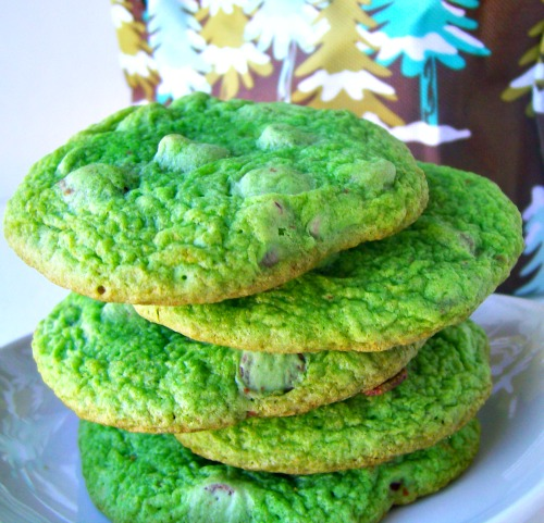 How the Grinch Stole Christmas Party - Grinch Cookies