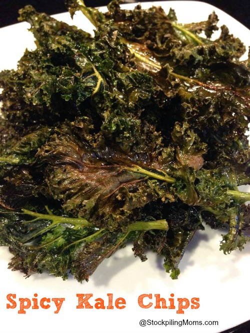 Only 1 Points+ Weight Watchers Points in this yummy kale chips recipe.