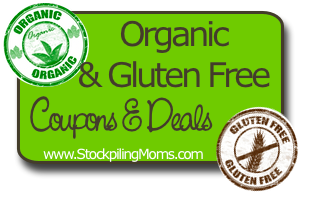 Organic and Gluten Free Deals and Coupons