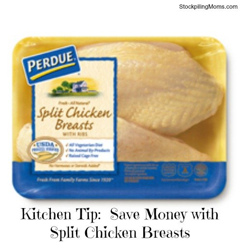 How To Save Money By Buying Split Chicken Breasts