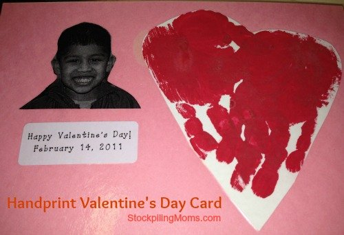 An inexpensive Valentine's Day Craft