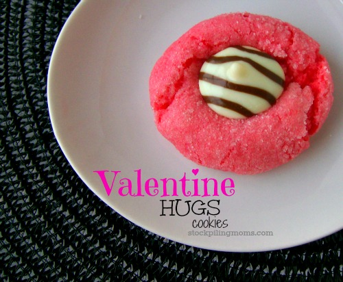 Only 5 ingredients in these declious cookies that are perfect for Valentine's Day