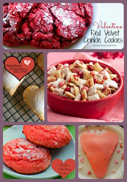 Here is a roundup of our  favorite Valentine's Day recipes!