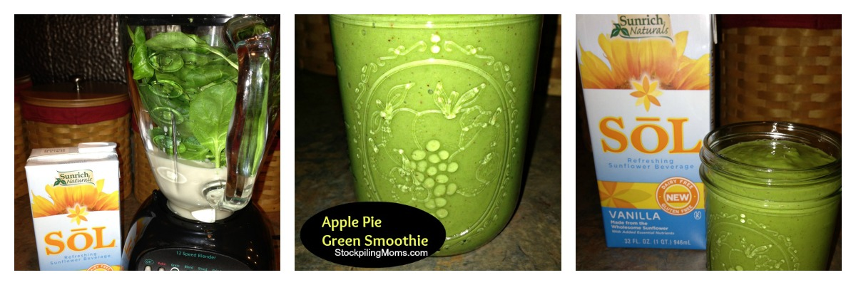 This delicious apple pie green smoothie is a great way to start you day and is packed with nutrition!