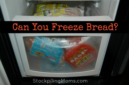 Can you freeze bread? Yes, you can! Check out this money saving tip.