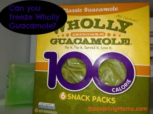 Can you freeze Guacamole? Yes, you can! Read this tip!