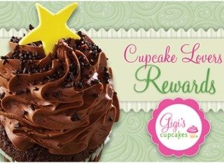 Gigi's Cupcakes Loyalty Club Rewards