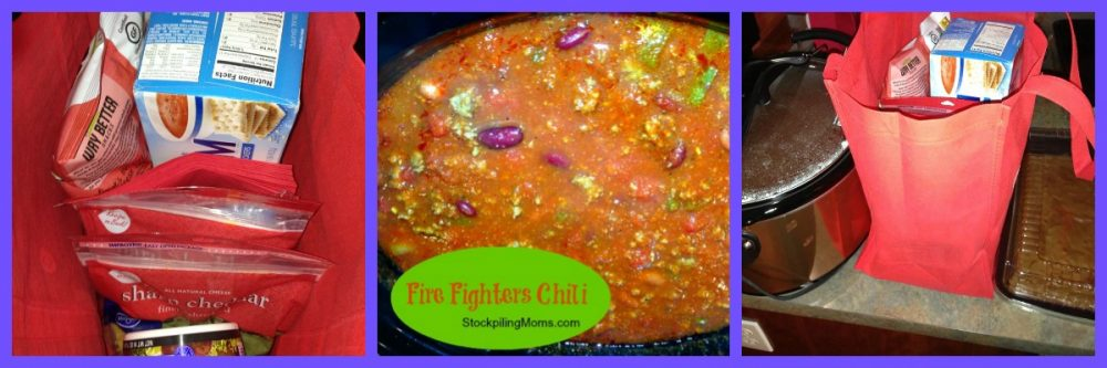 fire fighter collage recipe
