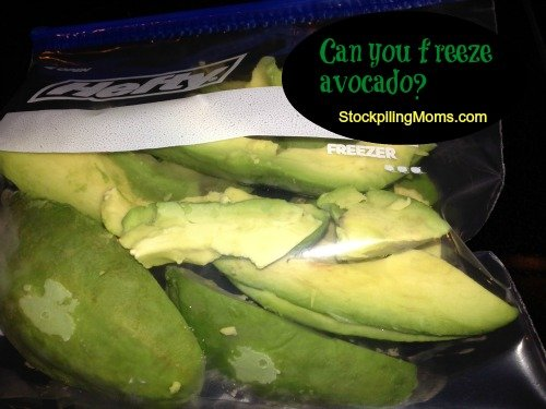 freeze avocado