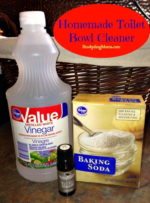With only two ingredients this Homemade Toilet Bowl Cleaner costs only pennies per serving and works GREAT!