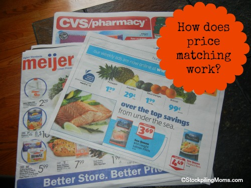 How Does Price Matching Work? #coupons #stockpiling #savingmoney