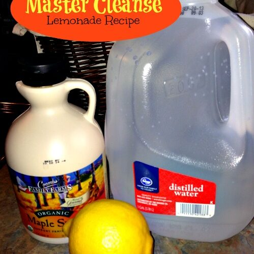 Master Cleanse Recipe For Detox Stockpiling Moms