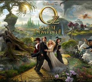 Oz Great and Powerful in Theaters March 8, 2013