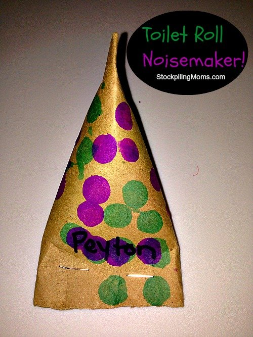 toilet roll noisemaker