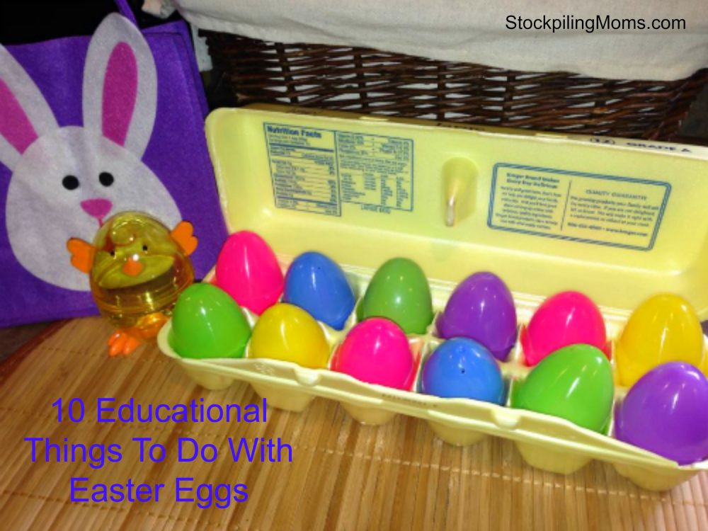 10 Educational Things To Do With Easter Eggs