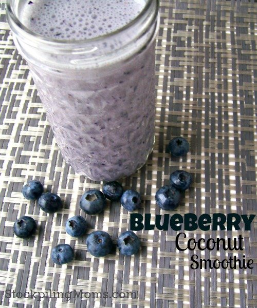 Blueberry Coconut Smoothie3