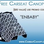 FREE Carseat Canopy + Shipping