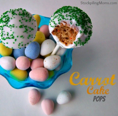 We must have these delicious cake pops for Easter at our house.