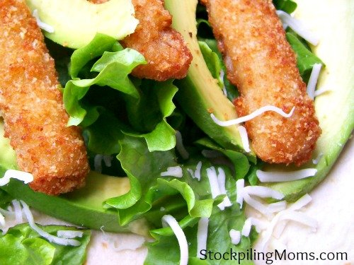 Easy Fish Stick Taco is perfect for lunch! We love to enjoy this during Lent.