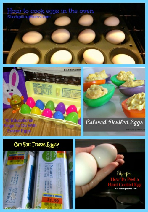 In this Egg Roundup for Easter we have some of our favorite recipes, tips and posts that use eggs.