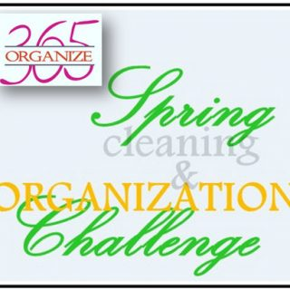 Get ready for Spring Cleaning and Organization