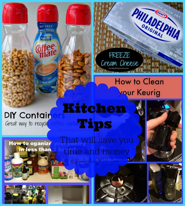 Kitchen Tips - That Will Save You Time and Money