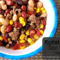 Rotel Taco Soup