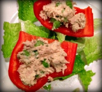 tuna in peppers