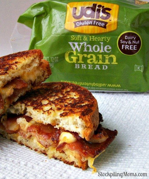 Bacon Grilled Cheese Sandwich is so easy to make! Perfect for lunch or dinner on busy weeknights.