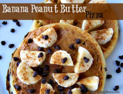 Banana Peanut Butter Pizza