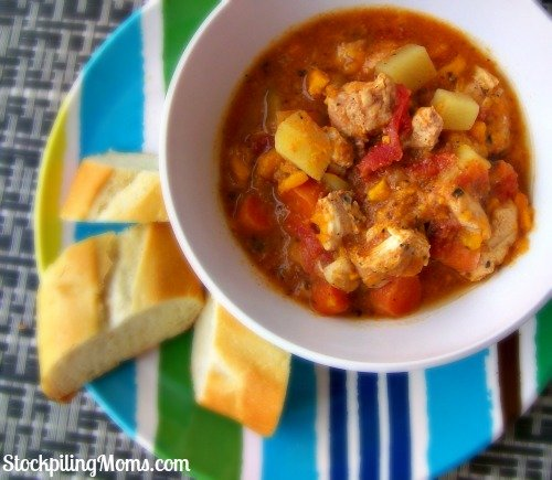 Chicken and Sweet Potato Stew is a hearty recipe that is perfect for fall.