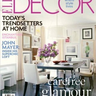 Elle Decor Magazine for only $4.49 per year (69% off)
