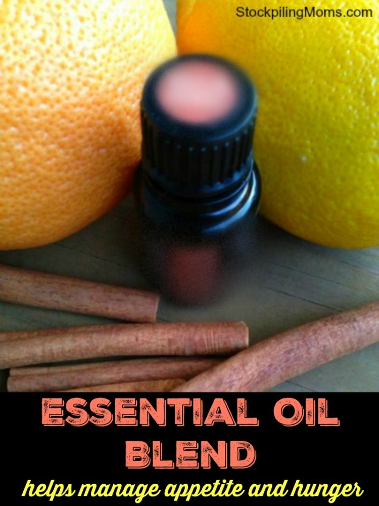 Essential Oil Blend - Helps Manage Appetite and Hunger