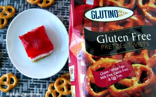 Gluten Free Strawberry Pretzel Salad