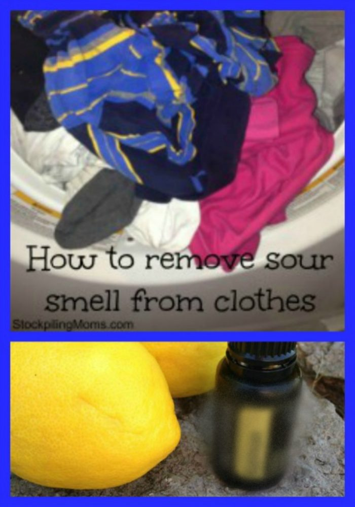 How To Remove The Sour Smell From Clothes Without Rewashing!