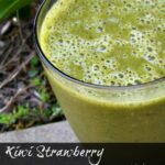 Kiwi Strawberry Green Smoothie