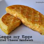 Leggo my Eggo Grilled Cheese Sandwich1