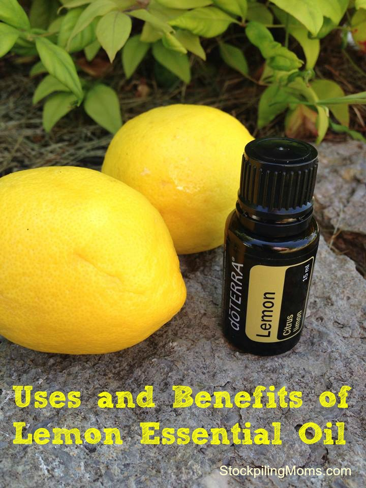 Uses and Benefits of Lemon Essential Oil #doterra #essentialoil