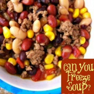 Can you freeze soup?